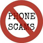 Avoid phone scams about HMRC