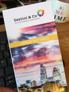 Sestini & Co tax tables 2019/20